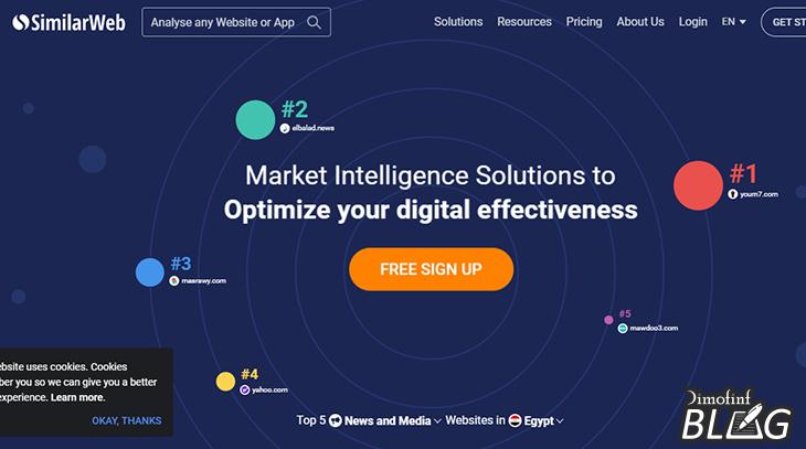 أفضل-مواقع-تحليل-السيو-Similarweb
