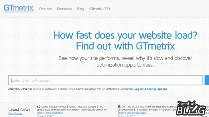 أهم-أدوات-السيو-GTmetrix