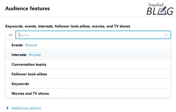 اهتمامات-الجمهور-لإعلانات-تويتر