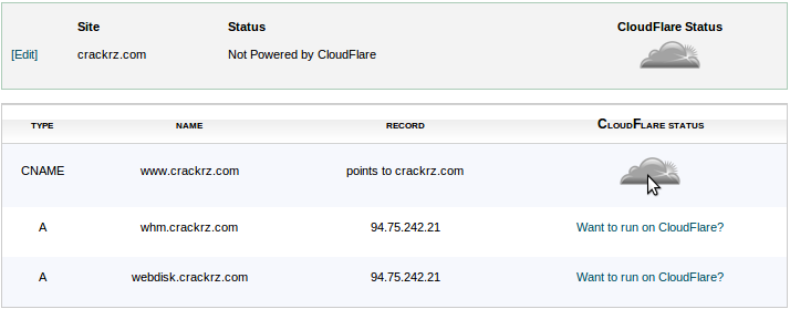How to enable CloudFlare? - Knowledgebase